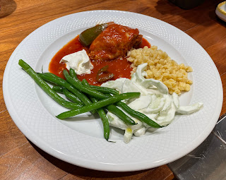"Chicken ""Paprikash"" with a Dollop of Sour Cream"