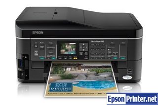 Download Epson WorkForce 635 resetter program
