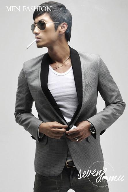 seven domu slim+fit+korea+blazer+sk09+ +1