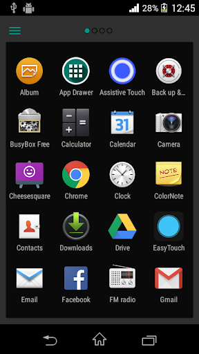 App Drawer - Quick Launcher