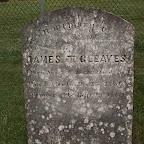 James Turk Gleaves Son of William & Elizabeth Gleaves The Gleaves Family Cemetery Cripple Creek, Wythe County, Virginia