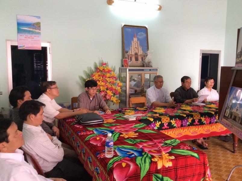 Các Linh mục giáo hạt Bồng Sơn tĩnh tâm tháng 05.2017