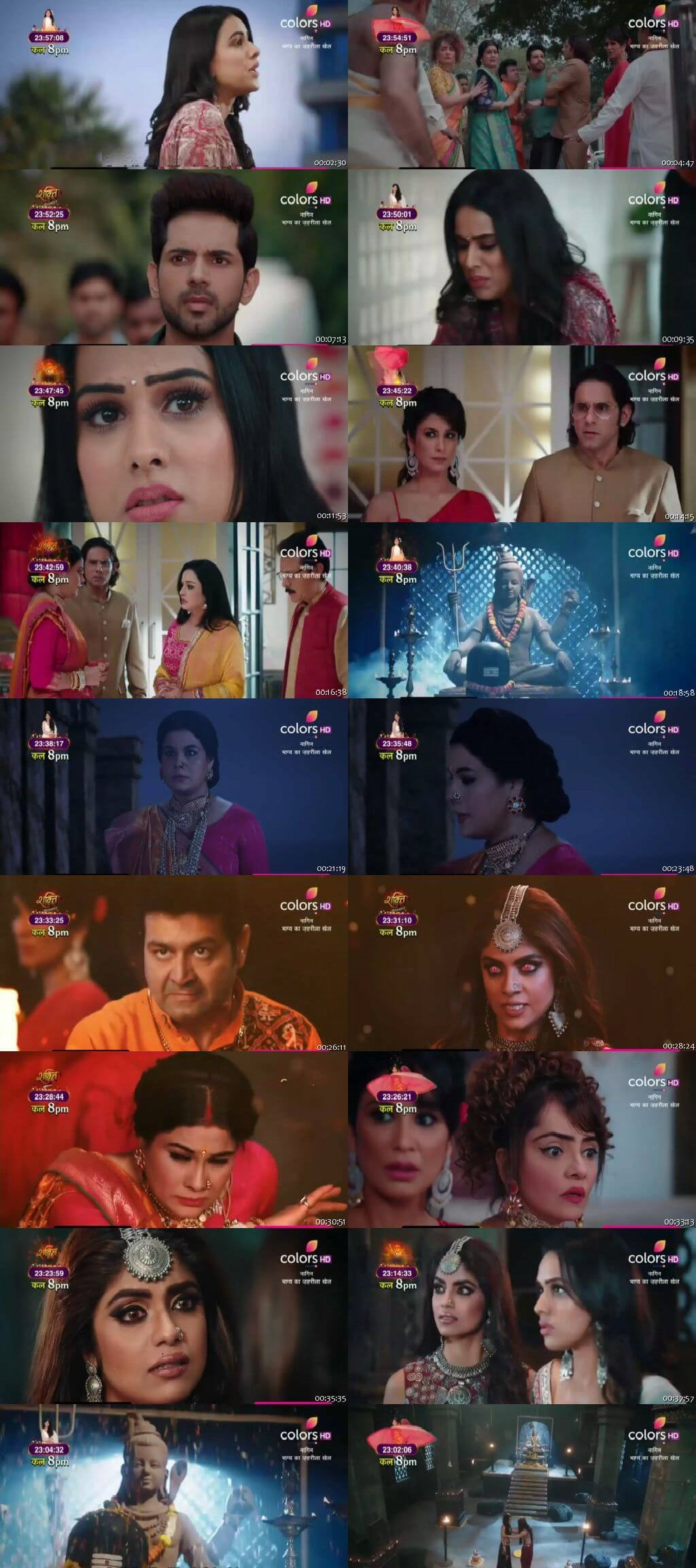 Screenshots Of Hindi Show Naagin Season 4 2020 Episode 12 300MB 480P HD