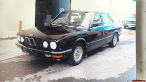 1984 BMW 520i (E28)