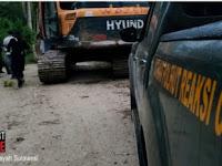 Balai Gakkum KLHK Wilayah Sulawesi  Tangkap 5 Orang Penambang Emas Tanpa Izin