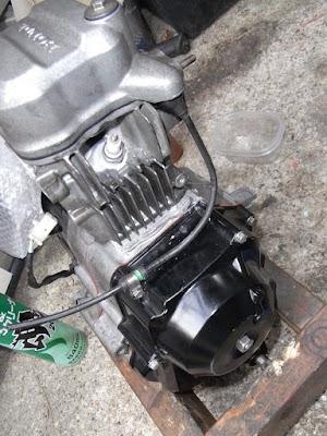 FIカブのエンジン