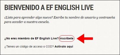 Abrir mi cuenta English Live - 627