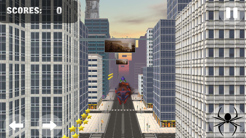 android Spider Hero Jump And Fly Screenshot 1