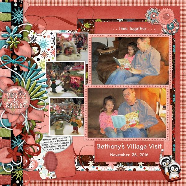 2016-11-26b Bethany's Village Visit