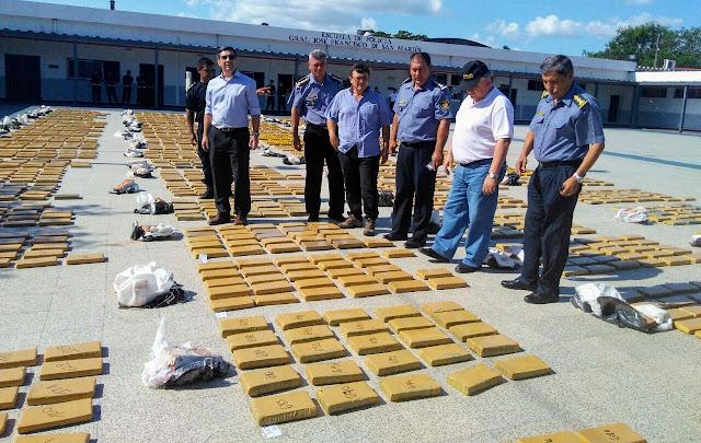 Golpe al Narcotráfico, La Policía de Corrientes incautó más de dos toneladas y media de marihuana