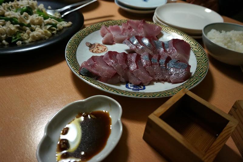 DSC07969 - Sashimi and sake