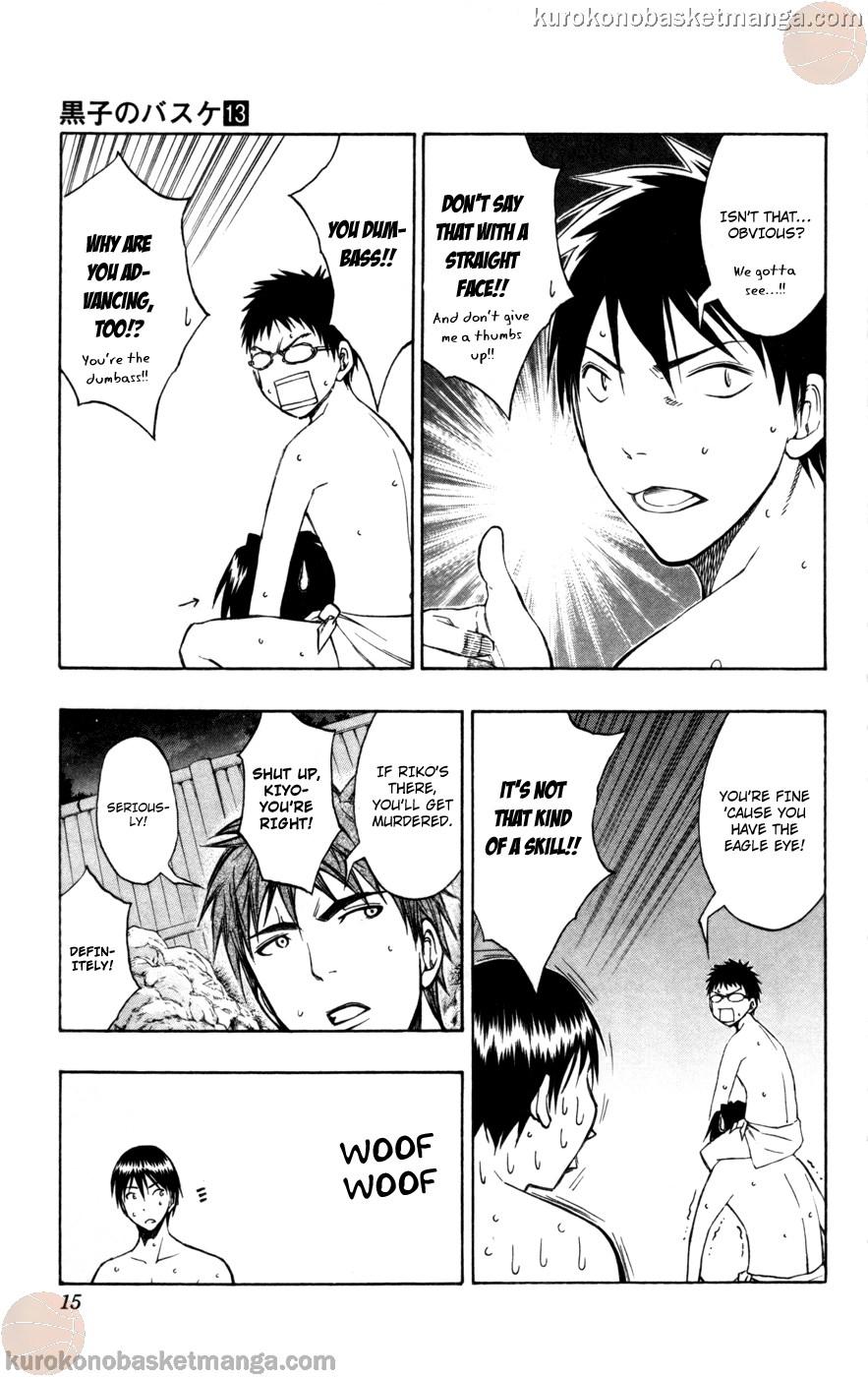 Kuroko no Basket Manga Chapter 109 - Image 13