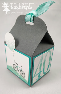 Stampin' Up! - Boxes, Verpackungen, Baum der Freundschaft, Sheltering Tree, Baker's Box, Leckereien Box, Party Ballons, Balloon Celebration, Luftballon, Bike, Fahrrad