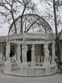 carved stone, Exterior, Gazebos, Ideas, Landscape Decor