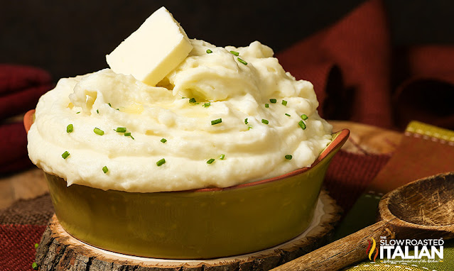 Bowl of Best Mashed Potatoes recipe