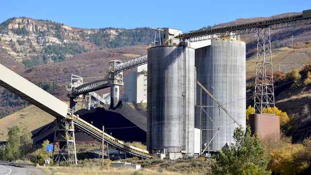 Arch Coal's West Elk mine near Somerset, Colorado, is the only still-active large coal mine in the North Fork Valley and is the state's largest emitter of methane. Photo: Mark Olalde