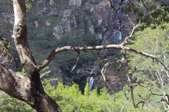 Vista da trilha da Cachoeira da Farofa