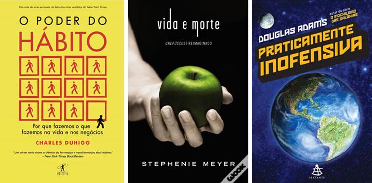 Os Livros que quero ler até o fim do ano.