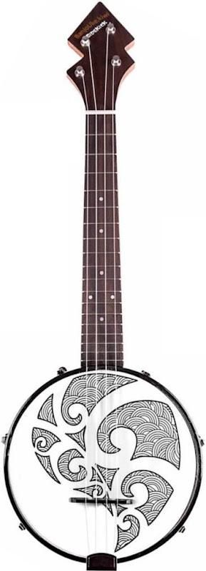 New Zealand kiwi sidekick banjo Ukulele