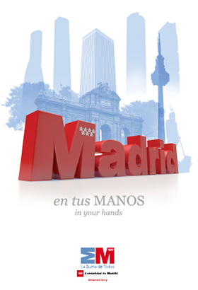 Nuevo plano turístico de Madrid