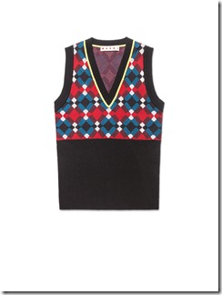 MARNI BLINKY COLLECTION XMAS 2016 - vest