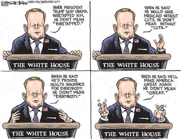 Spicer cartoon
