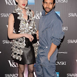 OIC - ENTSIMAGES.COM - Ella Catliff  and Nik Thakkar at the Alexander McQueen: Savage Beauty - private view Victoria and Albert Museum London 14th March 2015 Photo Mobis Photos/OIC 0203 174 1069