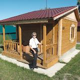 Hôtel (à Bayunoskiye Klyuchi), 30 km à l'est de Barnaul (alt. 250 m), le 14 juillet 2010. Photo : J. Marquet