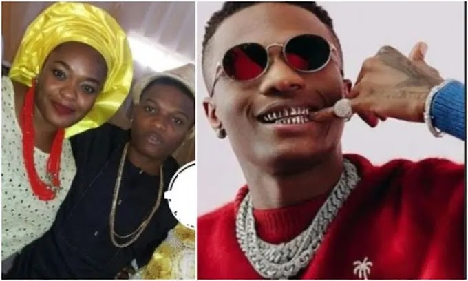 Wizkid's sister, Yetunde throws subtle shade, reveals the unknown about him