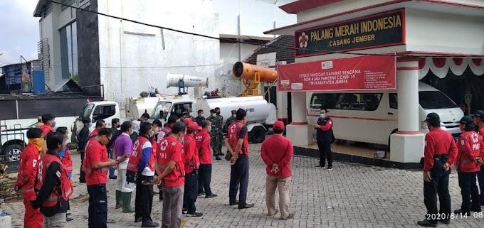 PMI Kabupaten Jember Antsipasi Bencana  La Nina ,Siaga I Dengan Call Canter.