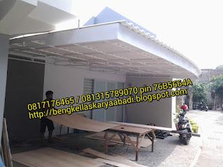 canopy minimalis alderon di bekasi
