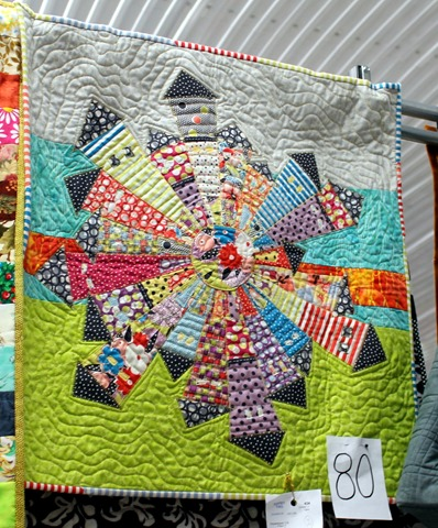 Gardenvale Dresden Neighborhood Mini Quilt