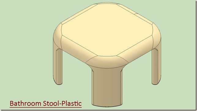 Bathroom Stool-Plastic_1