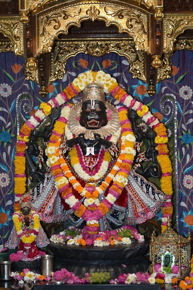 ISKCON Ujjain Deity Darshan 1 April 2016 (6)