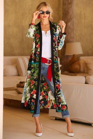 Kimono com salto