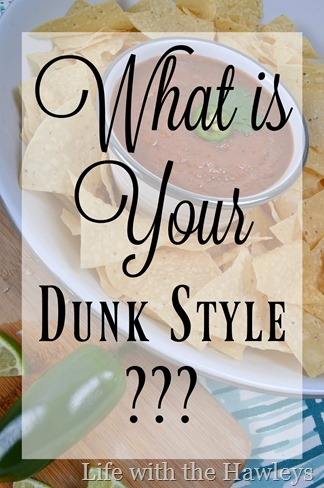 What is your dunk style- Life with the Hawleys