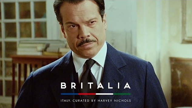 Britalia, Harvey Nichols 2016 Christmas Advert Isn't about the Holidays It's All Things Italian Instead