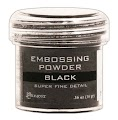 Super Fine Black Embossing Pwd