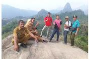 Kepala Desa Antajaya Resmikan Objek Wisata Gunung Kanaga