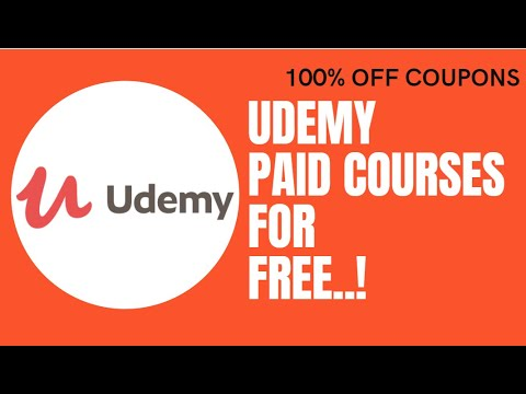 100% Off Udemy Coupon Codes with Certificate | Udemy 100 Off Coupon
