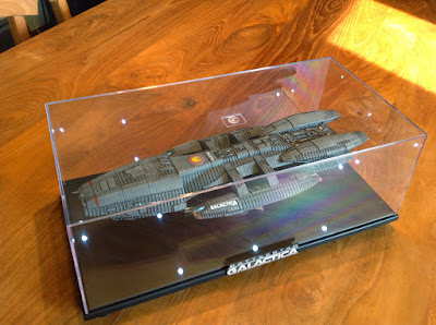 Battlestar Galactica in Display Case