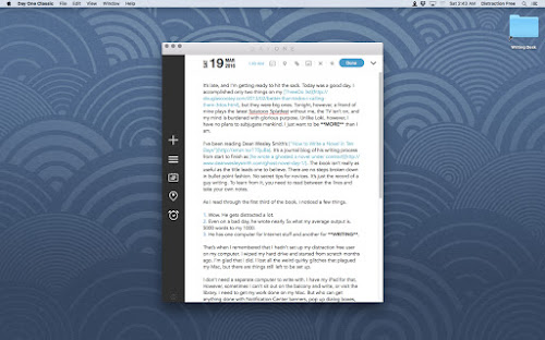 Ahhhh…a perfect writing environment
