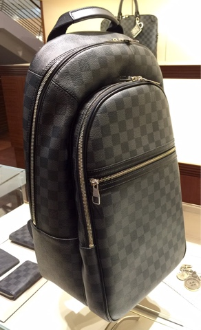 7125ab58202b The Louis Vuitton Michael Backpack isn t the latest but I ve only seen it  in Singapore recently. And it s an exciting addition to LV s range of  models.