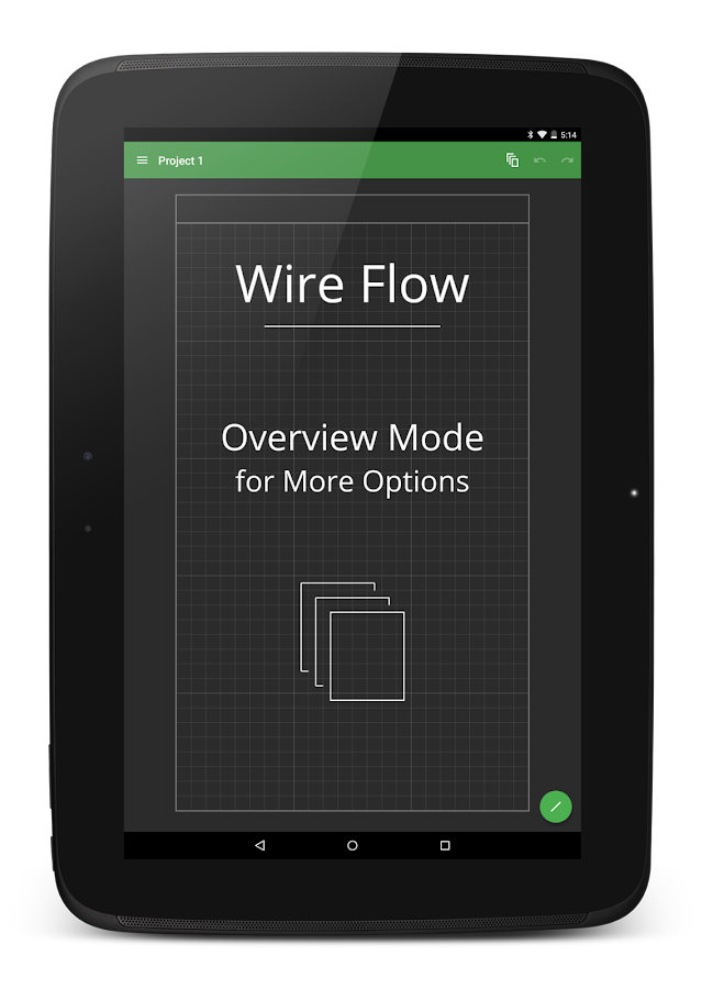 Wire Flow Wireframe Design- screenshot
