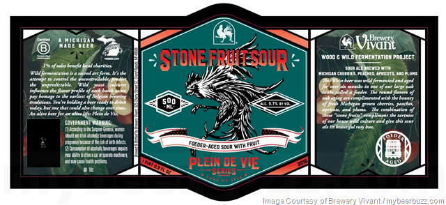 Brewery Vivant - Velvet Stud, Escoffier & Stone Fruit Sour