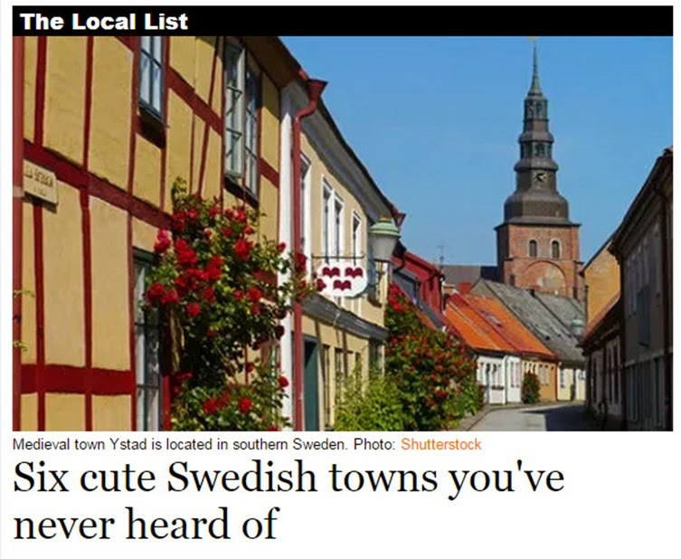 6 cute swedish towns
