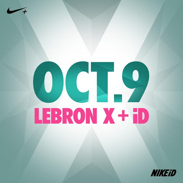 Nike LeBron X Coming to Nike iD on October 9th