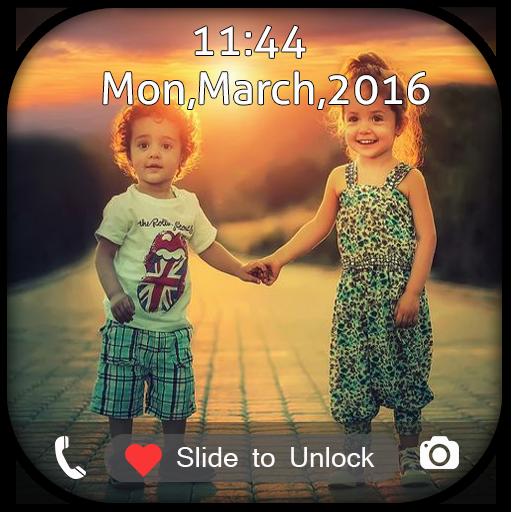 Couple Photo Swipe Lock