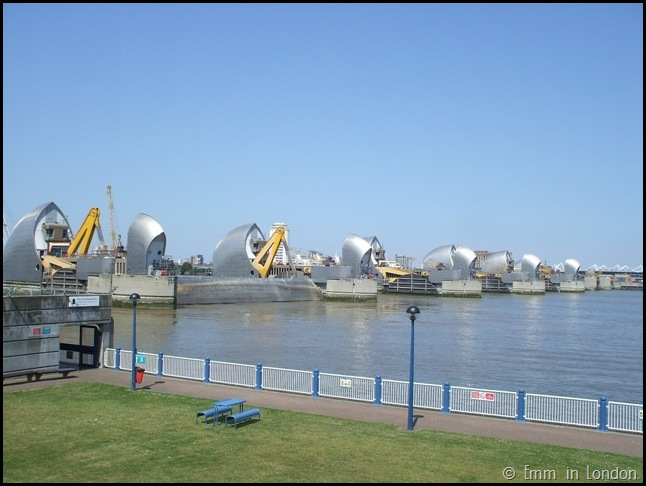 The Thames Barrier London