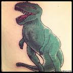 t rex - Dinosaurs Tattoos Pictures